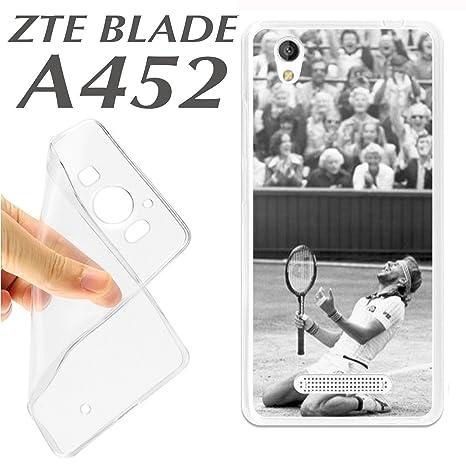 CARCASA + PROTECTOR DE CRISTAL (OPCIONAL) ZTE BLADE A452 ...