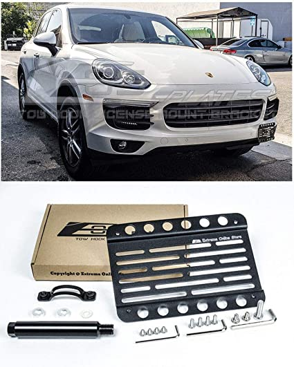 Extreme Online Store Replacement for 2015-2018 Porsche Cayenne 958.2 | EOS Plate Version 1