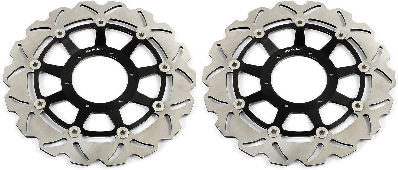 TARAZON Front Rear Brake Discs Rotors Brake Pads for Honda CBR 1000 RR CBR1000RR 2006 2007
