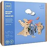 Des blocs de construction géants - jeu de construction comprenant 100 blocks de taille XXL, des cadeaux pour garçons et filles, Possibilités de construction illimités