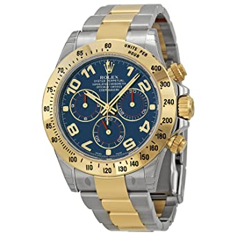 Amazon.com: Rolex 40 mm Modelo de acero inoxidable y oro 18 ...