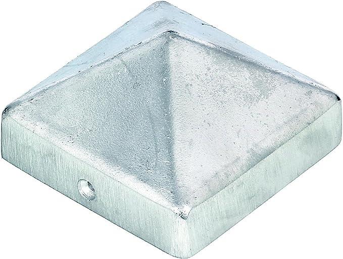 Premium Pfostenabdeckung f/ür Pfosten 70x70 mm aus Aluminium anthrazit-metallic