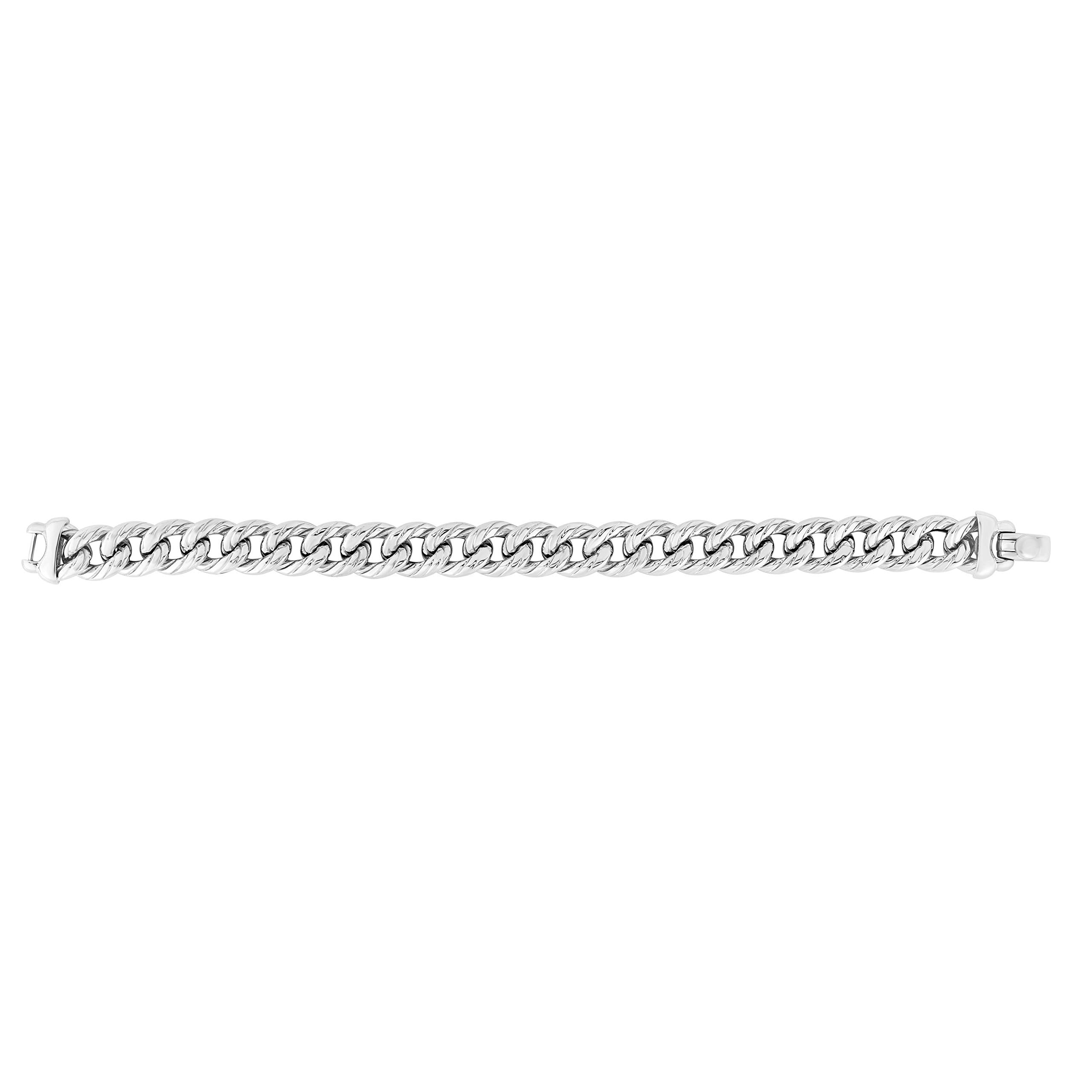 Sterling Silver Oval Link Chain Women's Bracelet, 7.5'' by Jewelry Affairs