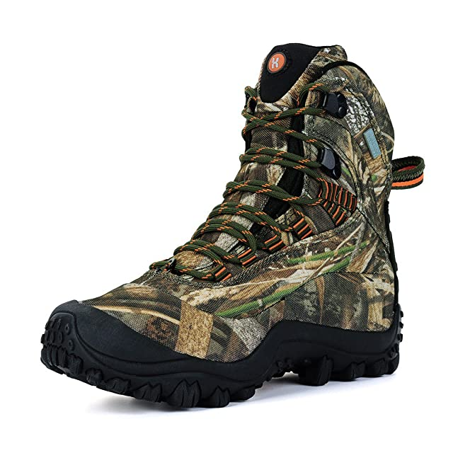 Manfen Women's Mid-Rise Hiking Boot
