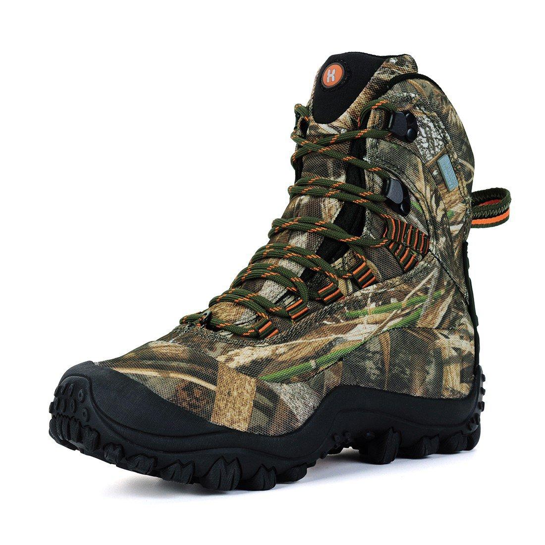 Manfen Women's Mid-Rise Waterproof Hiking Shoe US 7.5