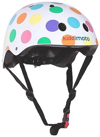 KIDDIMOTO Casco Bicicleta/Cascos para Infantil/Bici Casco para Patinete, Ciclismo Montaña, BMX, Carretera Skate, Patines, Monopatines - Puntos de ...