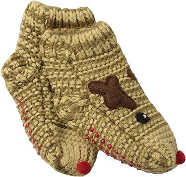 Mud Pie Unisex Baby Reindeer Socks