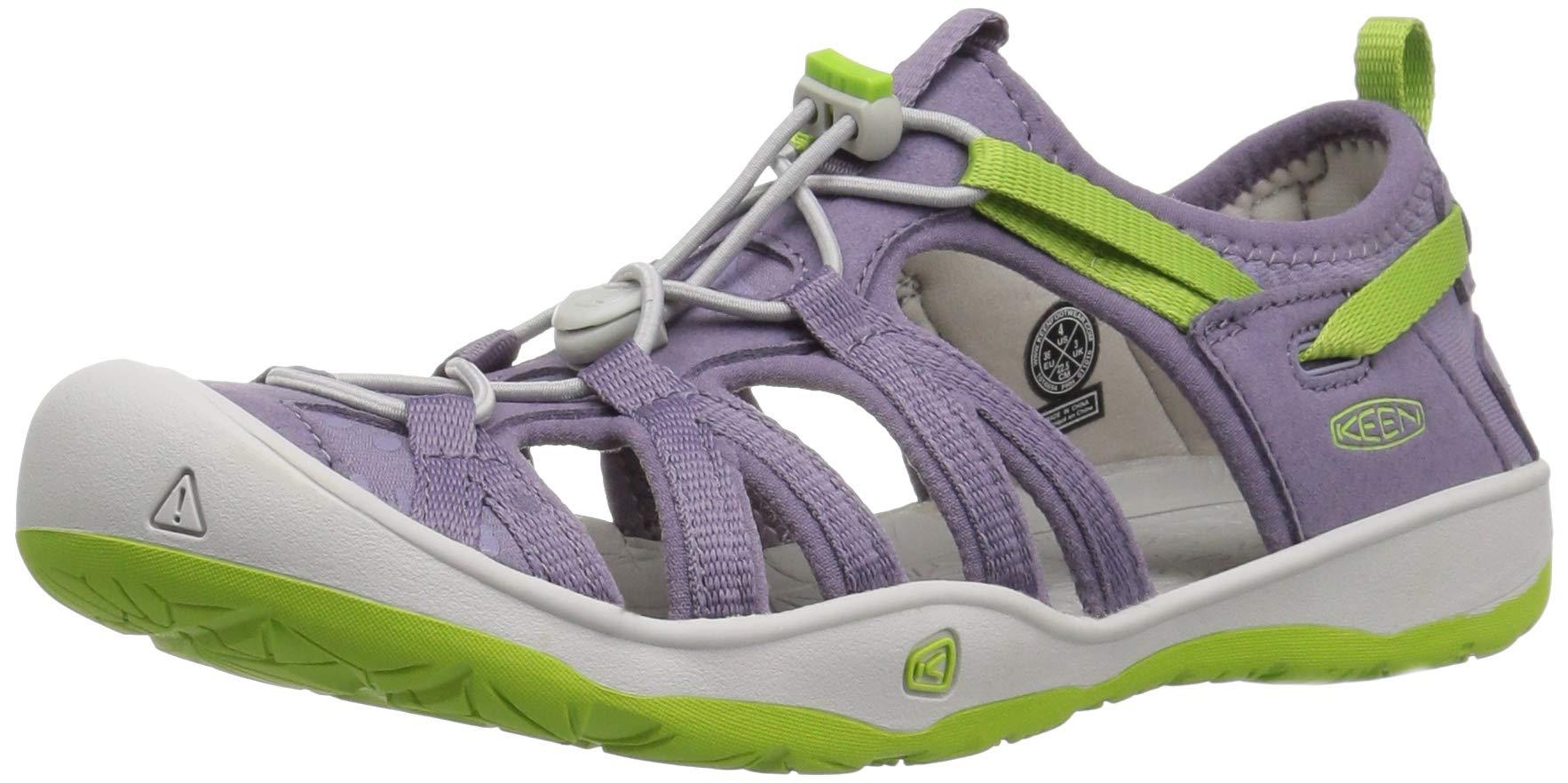 KEEN Unisex Moxie Sandal, Purple SAGE/Greenery, 6 M US Big Kid