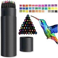 Färgpennor för vuxna, Surcotto 36 ritpennor, färgpennor skissningspennor konstnärspenna set för nybörjare barn ritning…