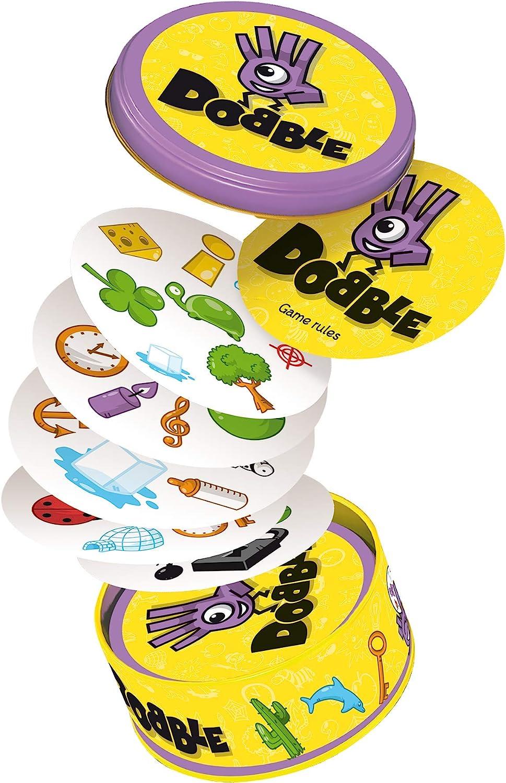 Asmodee - Dobble, juego de habilidad (versión inglesa): aa.vv.: Amazon.es: Juguetes y juegos