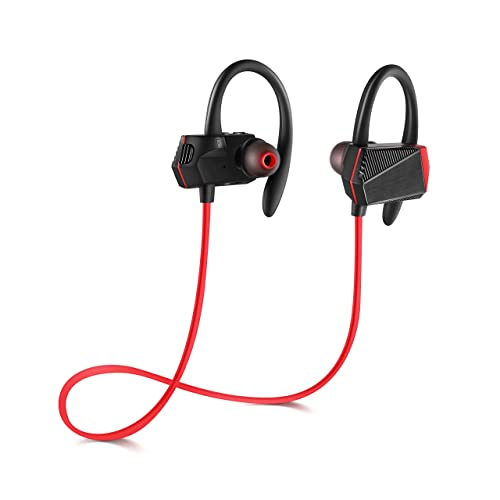 GSPON Bluetooth Headphones Wireless Earbud Headset with Mic for Running for Smartphones