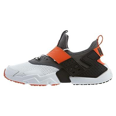 reputable site dc5fc 93203 Amazon.com | Nike Men's AIR Huarache Drift PRM, White/Dark Grey-Rush Orange,  10.5 M US | Athletic