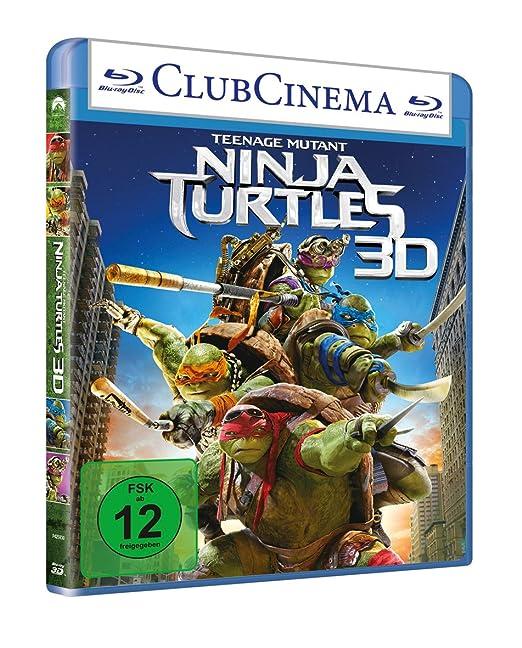Teenage Mutant Ninja Turtles [Alemania] [Blu-ray]: Amazon.es ...