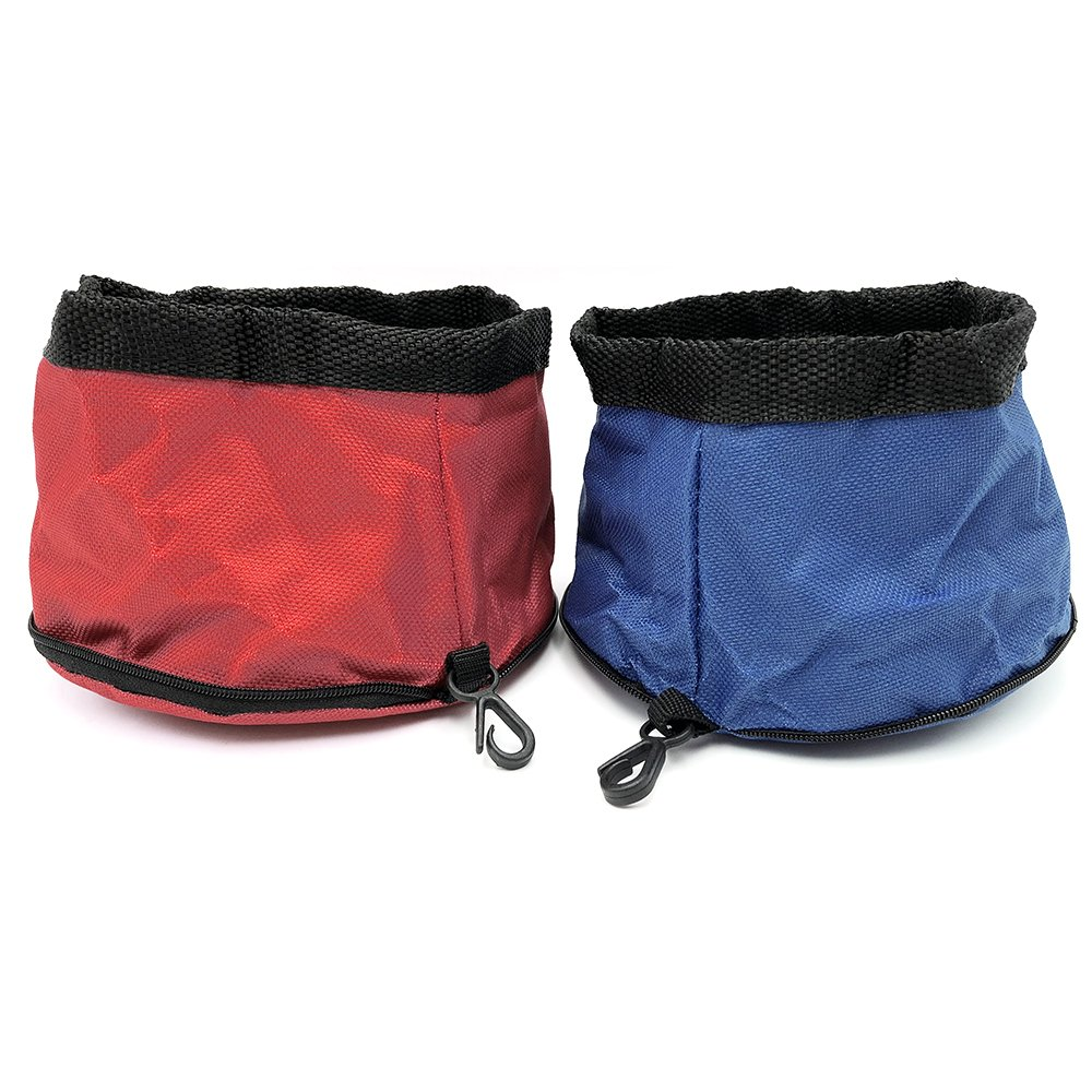 Longjet Dog Bowl, Travel Collapsible, 2 Pack