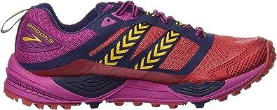 Brooks Cascadia 12, Zapatillas de Running para Asfalto para Mujer, Multicolor (Poppyred/Peacoat/batonrouge), 36.5 EU: Amazon.es: Zapatos y complementos