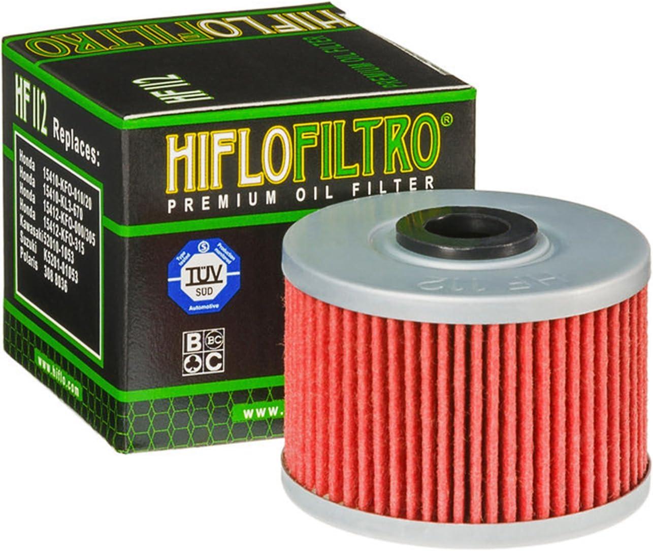 MD38 Gulf 10W-40 /Öl HiFlo /Ölfilter f/ür Honda CRF 250 L /Ölwechselset inkl Dichtring Filter Motor/öl 13-15