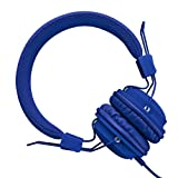 Amazon Price History for:Sound Intone HD850 On-Ear Adjustable Folding Headphones with Microphone and Remote Control,  Dark Blue