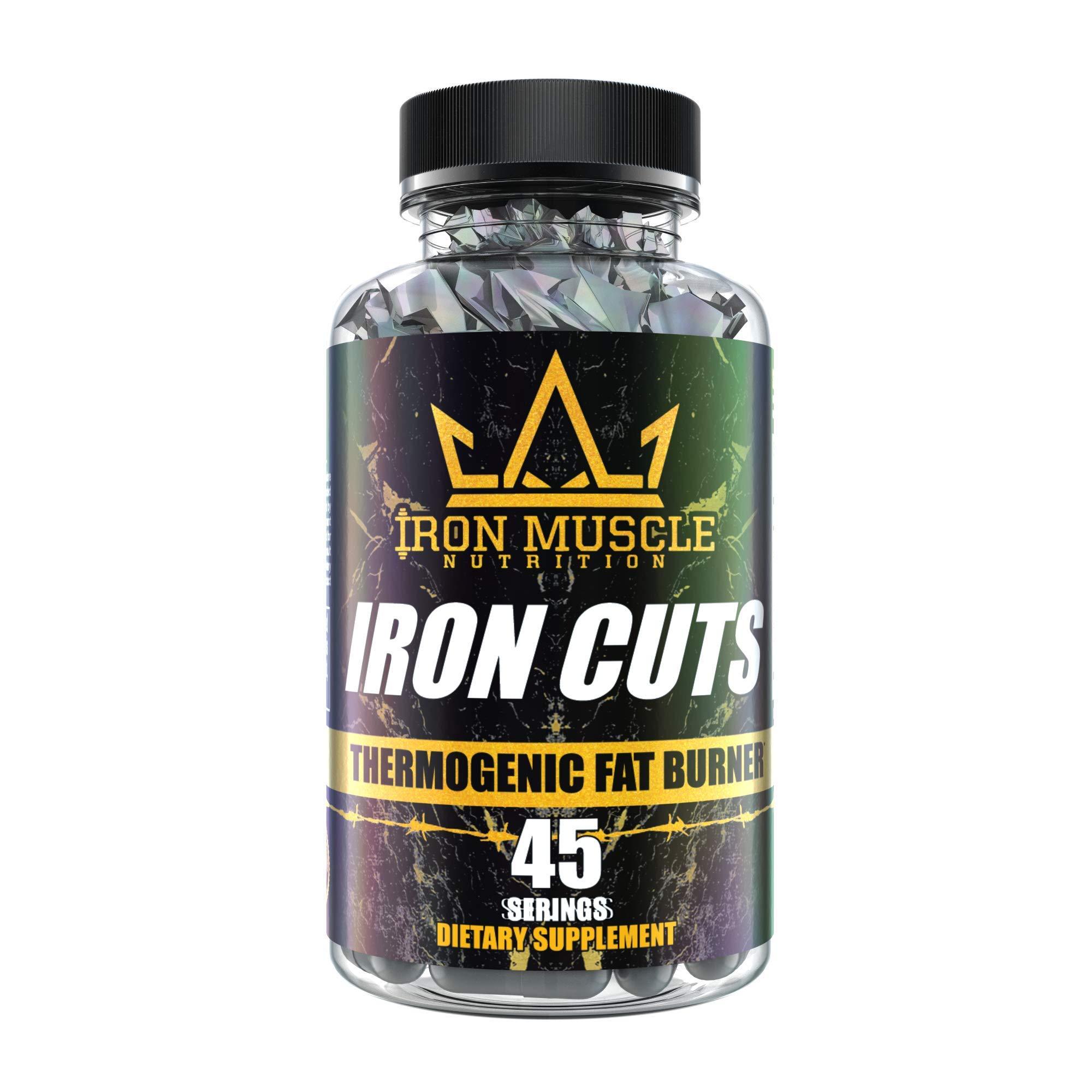 Iron Muscle Iron Cuts Fat Burner by IRON MUSCLE