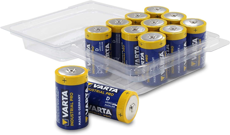 Varta 4020 Mono D Lr20 Mn1300 Industrial Pro Alkaline Elektronik