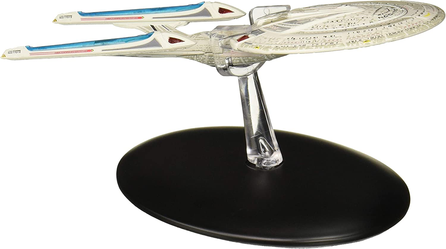 Eaglemoss Star Trek The Official Starships Collection #8: USS Enterprise E Ship Replica Toy, Multicolor