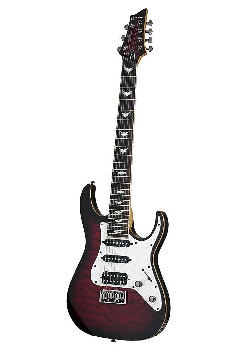 Schecter guitarra Research banshee-7 extrema (7 cuerdas Guitarra eléctrica