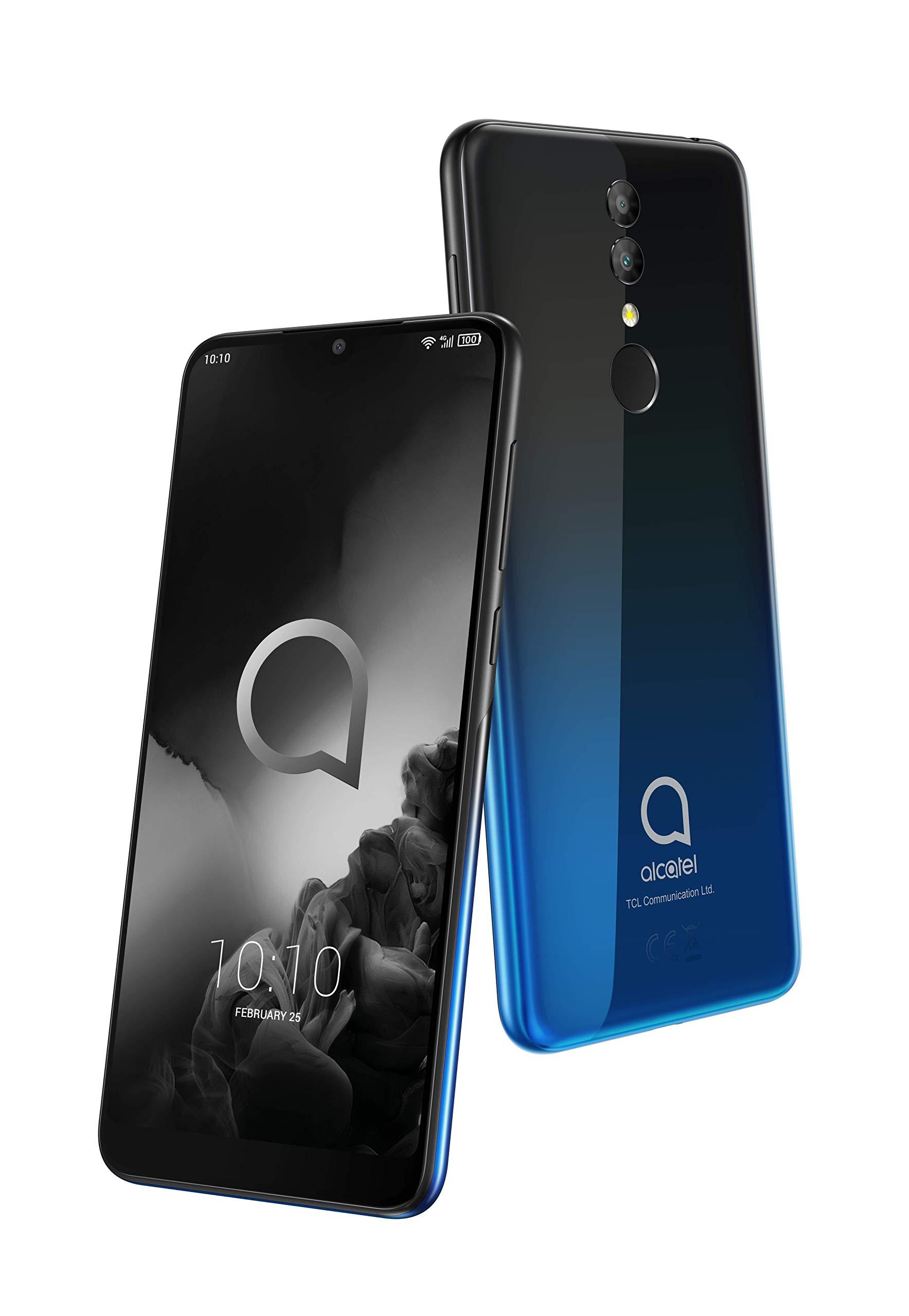 "Alcatel 3 2019 Smartphone 5.94"" Display 32GB- Blue/Black"