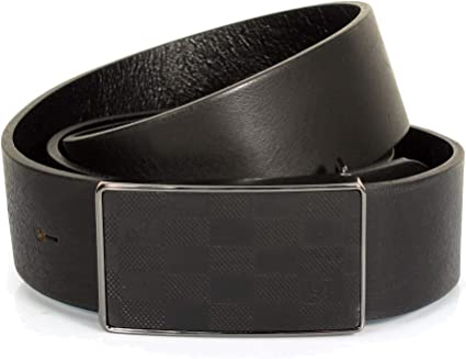 """Men/'s Real Genuine Leather Dark Brown Belt 1.5/"""" Wide Thick Casual Jeans CM1"""