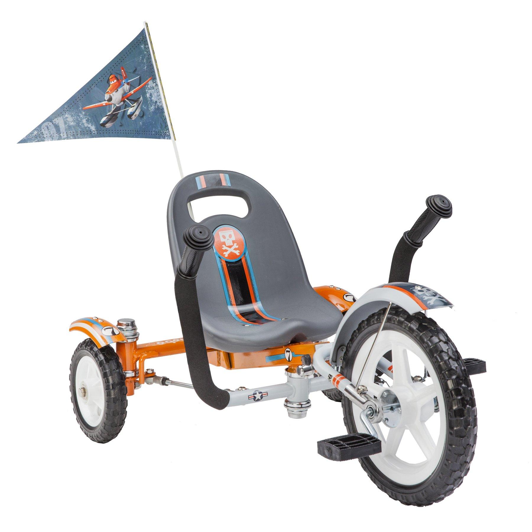 Mobo Tot Disney Planes Dusty: A Toddler's Ergonomic Three Wheeled Cruiser Ride On