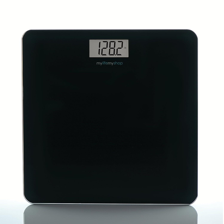 My Life My Shop MM40128-0200 Digital Body Scale, Balance 1, Black