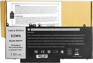 62Wh 6MT4T Battery for Dell Latitude E5470 E5570 Precision 3510 0HK6DV 7V69Y 79VRK 079VRK TXF9M 0TXF9M 0C1P4 451-BBUN 451-BBTW