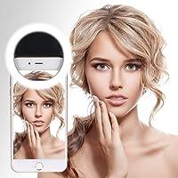 Adofys XJ-01 36 LED Flash Selfie Light Ring for All Smart Phones (Black)