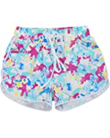 Quick-drying Cotton Beach Pants Sport Shorts Leisure Loose Hot Pant(Starfish)