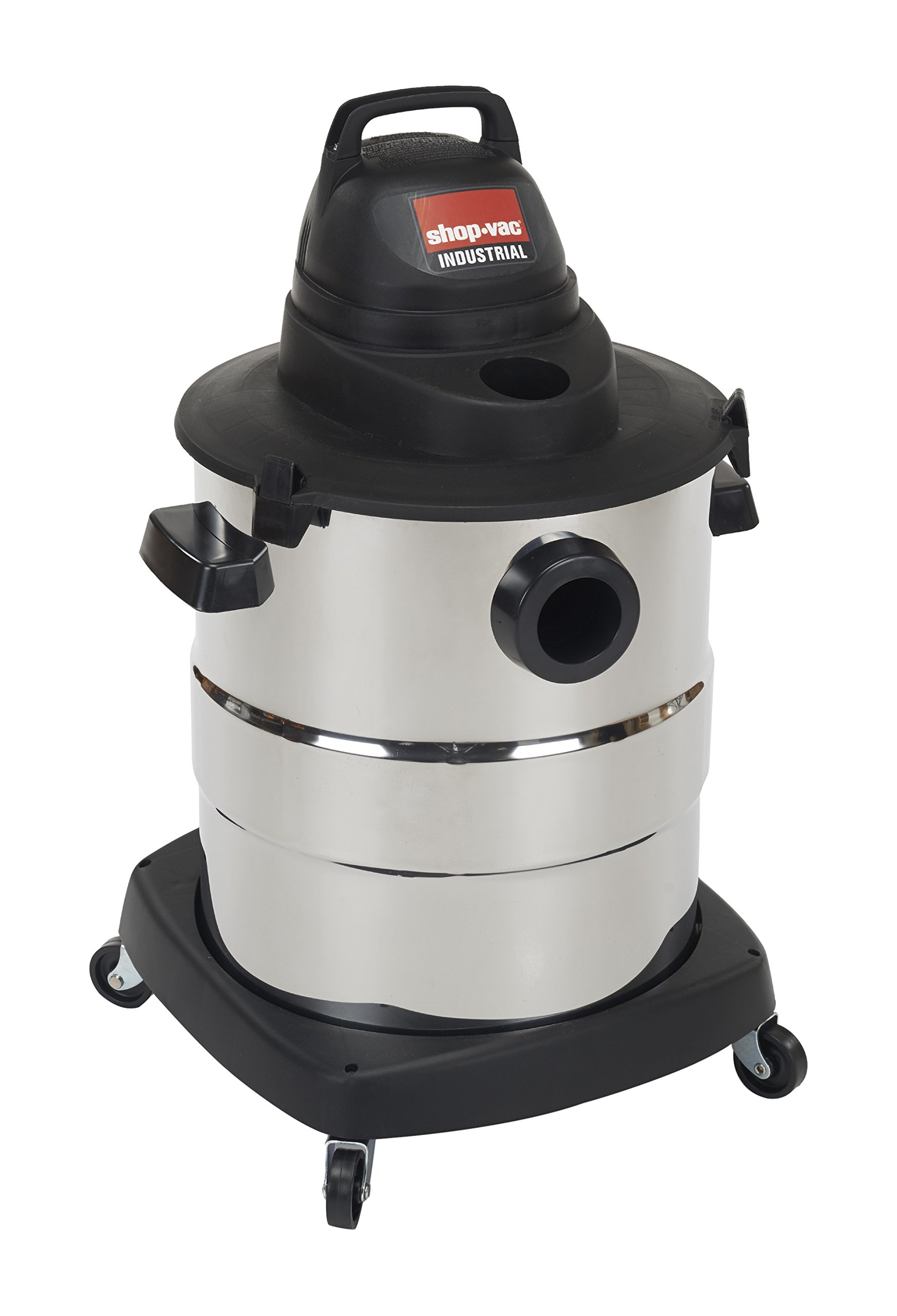 Shop-Vac 6000210 4.5 Peak HP Stainless Steel Wet Dry Vacuum, 10-Gallon by Shop-Vac