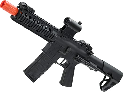 Evike King Arms M4 Pdw Sbr Airsoft Aeg Rifle by Evike