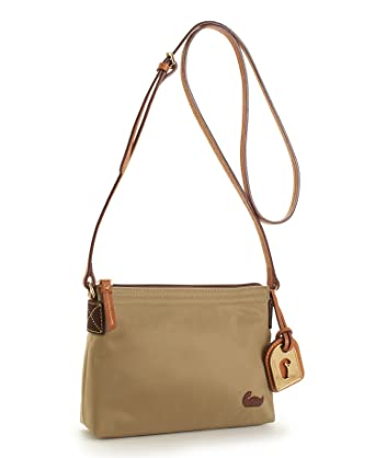 7bf1fae0d Dooney & Bourke Nylon Crossbody Pouchette, Navy with Black Trim: Handbags:  Amazon.com