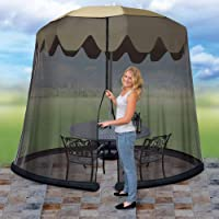 Deals on Ideaworks JB5678 Outdoor 9-Foot Umbrella Table Screen