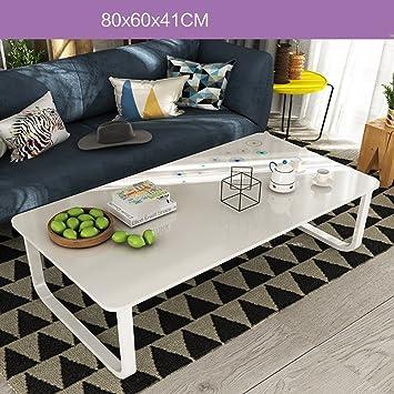 ZZHF Couchtisch Minimalist Modern Mini Couchtisch Einfache Kreativen  Wohnzimmer Büro Niedrigen Tisch 5 Farben Optional Größe