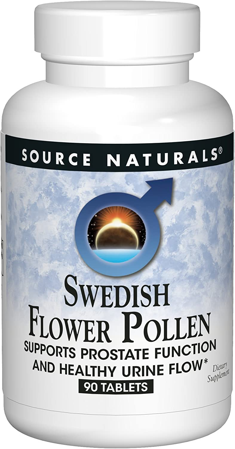 Source Naturals Swedish Flower Pollen Extract Supplement – 90 Tablets Pack of 2