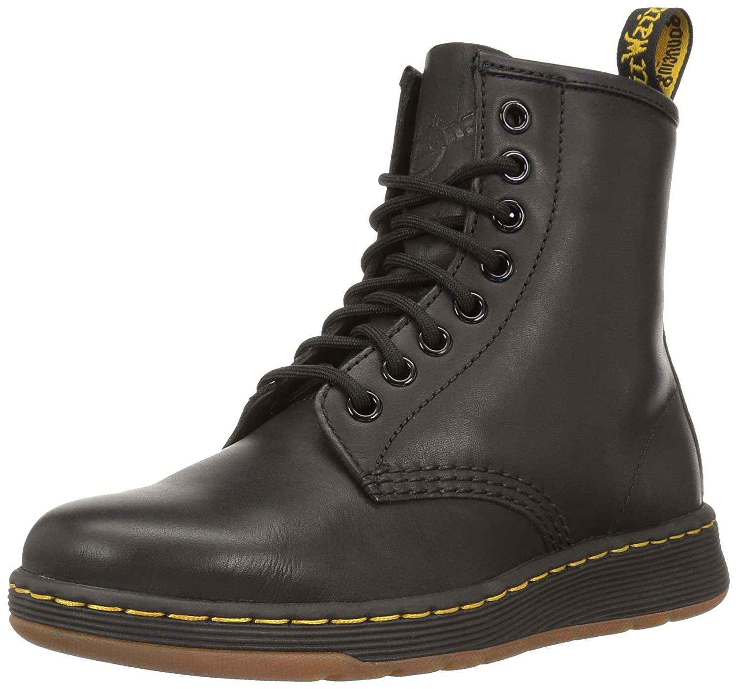 riesige Auswahl an amazon riesiges Inventar Dr.Martens Womens Newton 8 Eyelet Temperley Leather Boots Black