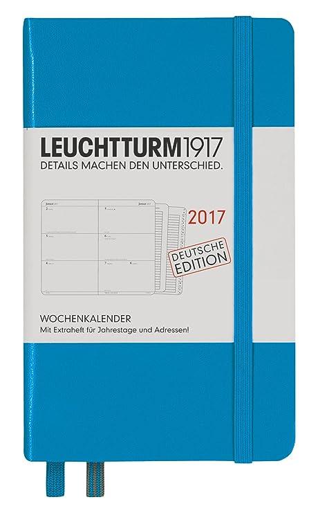 Amazon.com: Leuchtturm1917 348160 agenda A6 de bolsillo 2017 ...