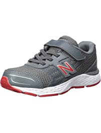 463c208ae81d56 New Balance Kids  680v5 Hook and Loop Running Shoe