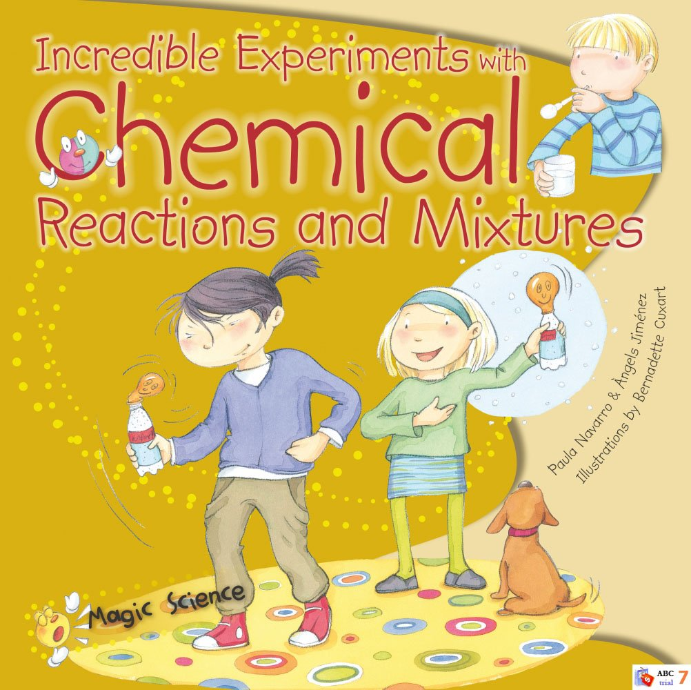 12 chemical reactions that are more like magic