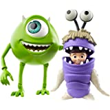 Disney Pixar Monsters, Inc Mike and Boo Figures [Amazon Exclusive] Character Action Dolls Highly Posable with Authentic…