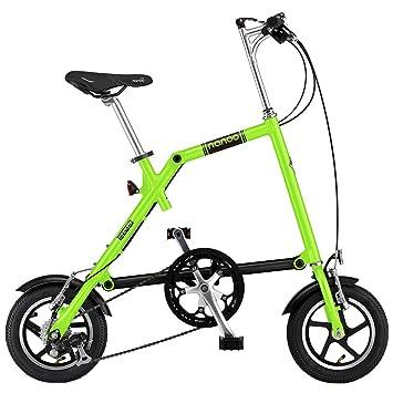 Nanoo FB12 Bicicleta plegable Nanoo Verde manzana