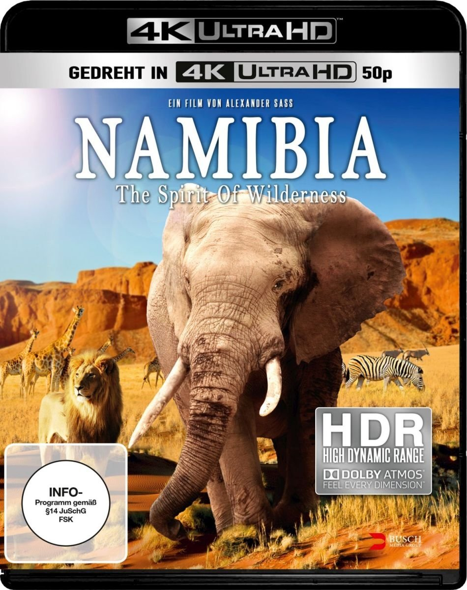 Namibia The Spirit Of Wilder by Amazon