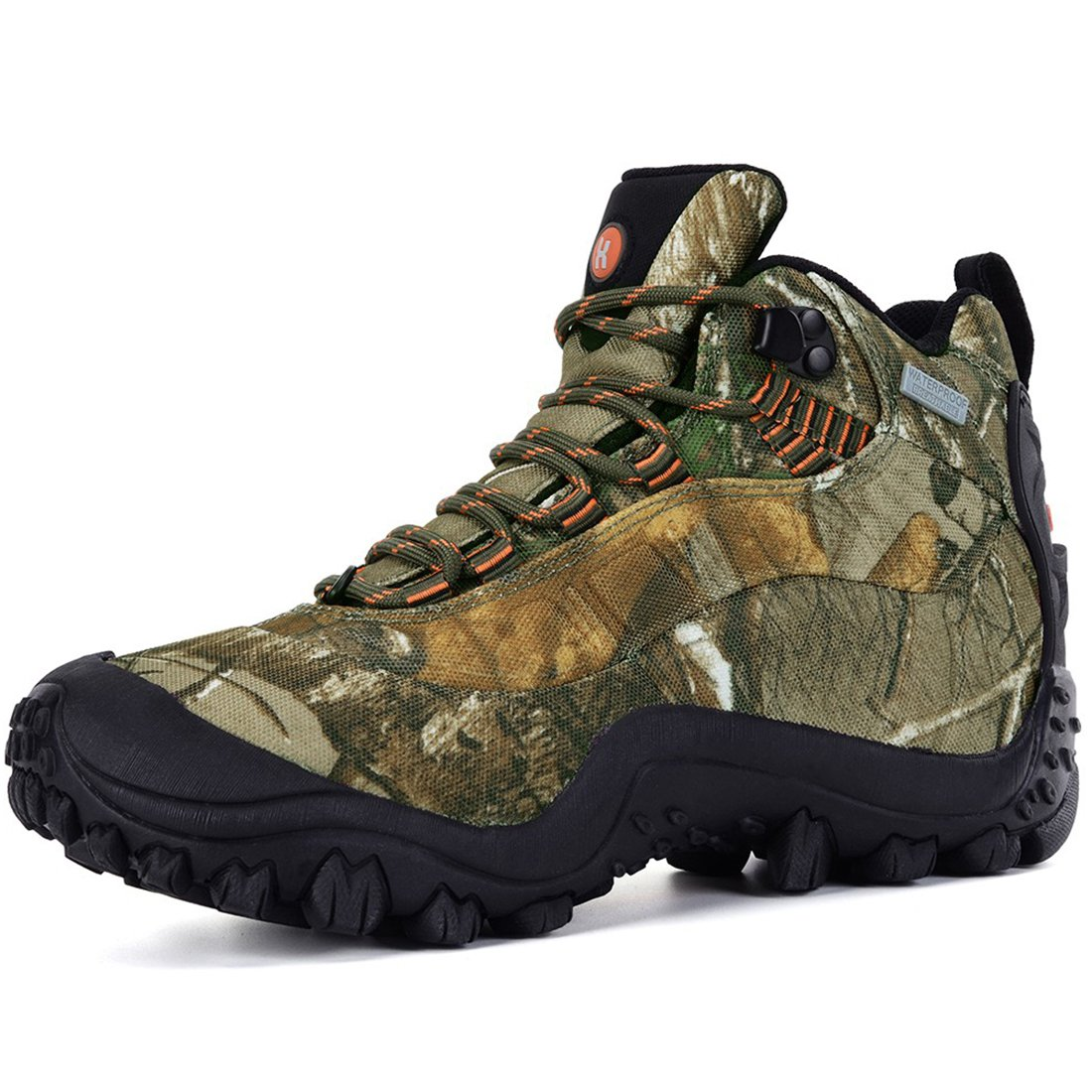 XPETI Women's Thermador Mid Waterproof Hiking Hunting Trail Outdoor Boot Camouflage 7.5