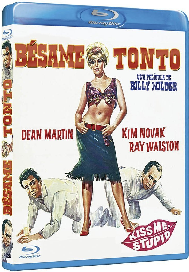 Bésame Tonto Blu Ray Amazones Dean Martin Kim Novak Ray