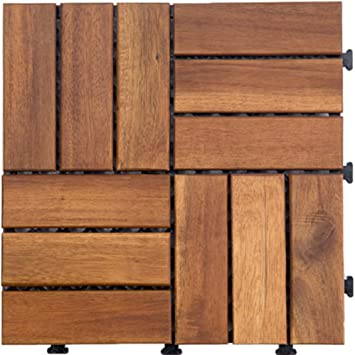 Suelo de madera de diy/suelo de parqué/anti-que patina,anticorrosivo],aire libre,suelo de madera del jardín-H: Amazon.es: Bricolaje y herramientas