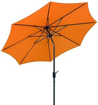 Amazon De Schneider Sonnenschirm Harlem Mandarine 270 Cm Rund