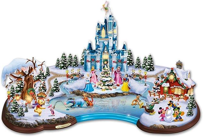 Addobbi Natalizi Disney.Paesaggio Illuminato La Magia Del Natale Disney 37 Cm 50 Personaggi Disney Selezione Varzi Dal 1956 Amazon It Casa E Cucina